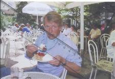 Foto des deutschen Schauspieler MANFRED SEIPOLD - Pressefoto  Aufnahme von 1988