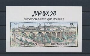 LO03212 Luxembourg 1998 expo youth philately good sheet MNH