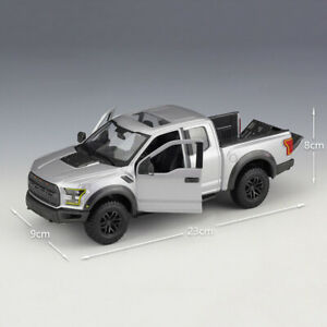 Maisto 1:24 Scale Silver 2017 F-150 Raptor PICK-UP Truck Diecast Alloy Model Toy