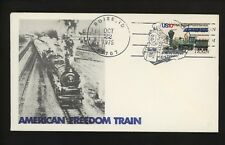 US Postal History Railroad Train Pictorial American Freedom Train 1975 Boise ID