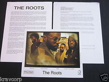 THE ROOTS 'THE TIPPING POINT' 2004 PRESS KIT—PHOTO
