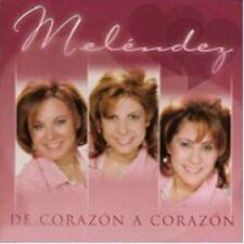 De Corazon A Corazon - Melendez - CD de musica cristiana