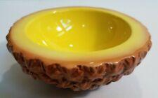 Holt Howard Ceramic Fruit Pineapple Bowl Vintage 1960 Glazed Antique