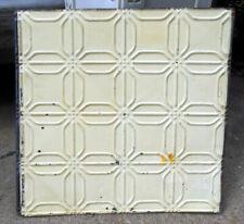SALE Antique Ceiling Tin Tile Frame Simple & Elegant Shabby Chic Cottage Canvas