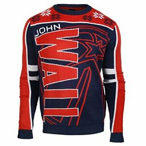 KLEW NBA Men's Washington Wizards John Wall #2 Ugly Sweater