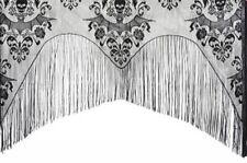 1 Bat & Skull Lace Halloween Classic elegant spooky Haunt Curtain Curtains