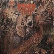 POWER TRIP - Manifest Decimation LP - Black Vinyl - Thrash Metal Hardcore Punk