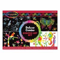 Melissa and Doug Scratch Art® Deluxe Combo Set - 15981 - NEW!