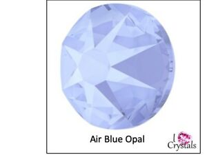 AIR BLUE OPAL 7ss 2mm 144 pcs Swarovski Crystal Flatback Rhinestones Nails
