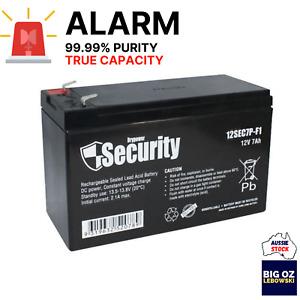 Alarm Replacement Battery | 12V 7AH-7.2AH | VRLA SLA | Lead Acid | 99.99% Purity