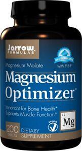 MAGNESIUM MALATE Formula with Taurine, Potassium Citrate Vitamin B6 200 Tablets