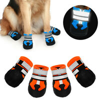 Anti-Slip Large Dog Booties Waterproof Paw Protectors Dog Shoes Adjustable S-2XL