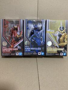 Bandai S.H.Figuarts Kamen Rider Saber Blades Espada 3 Set lot Japan NEW
