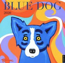 Blue Dog 2020 Wall Calendar by George Rodrigue Book