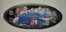 Canada 12 Coins 2000 Millennium Quarter Set Complete In Case