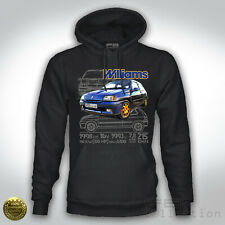 Felpa Hoodie RENAULT Clio Williams 2.0 16v Rally Legend WRC Group B Tuning RS