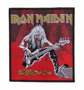 IRON MAIDEN - Fear Of The Dark Live - Official Woven Patch