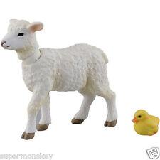 TAKARA TOMY ANIA ANIMAL ADVENTURE AP-08 WHITE SHEEP & CHICK AN84880