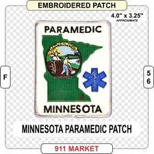 Minnesota Paramedic Patch EMS Medic MN state Ambulance EMT-P FD Emergency - F 56