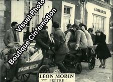 Photo 24x30cm (1961) LÉON MORIN PRÊTRE Jean-Paul Belmondo BEb