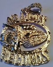 No limit records pendant Gold Plated Brand New💙💙💙buy One Get One Free!