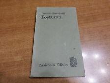 Lorenzo Stecchetti POSTUMA Edizione Zanichelli 1964