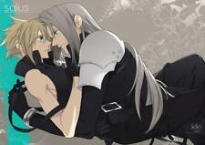 Final Fantasy VII FF7 Japanese Doujinshi Comic Book Sephiroth x Cloud Salus/kiki