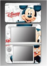 Mickey Mouse Cartoon Epic Kingdom Hearts 3D Video Game Skin for Nintendo 3DS XL