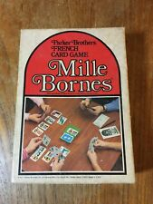 Vintage Parker Brothers Mille Bornes Card Game unused immaculate condition