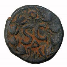 Ancient Roman Empire Hadrian 117-138 AD AE22 Antioch Mint Senate Issue BMC.298