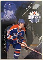 2017-18 SPx Wayne Gretzky Card #25 Serial #/249 Edmonton Oilers Legend