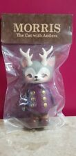 Morris The Cat With Antlers Kaori Hinata purple Coat Sofubi Figure Japan