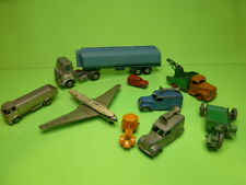 LOT of 9 DINKY TOYS - 1:43  - FAIR CONDITION