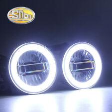 LED Angel Eyes Daytime Running Light Fog lamp For Honda Mobilio 2013 2014 2015