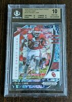 2020 Prizm Draft Picks CeeDee Lamb Camo Prizm RC # 16/25  - BGS 10 - Pop 1