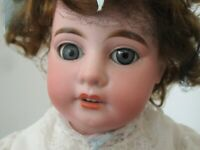 Antique ARMAND MARSEILLE German Bisque Head Doll AM 8 DEP Made in Germany
