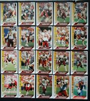 1991 Pacific Washington Redskins Team Set of 20 Football Cards