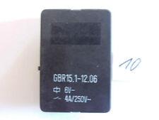 Relais GBR 15.1-12.06  6 V 4 A 250 V AC 2xum liegend  Relay