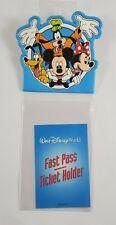 Walt Disney World Fast Pass Holder Clip-On