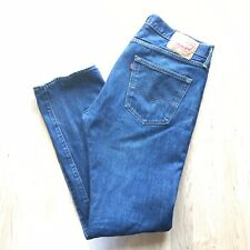 Levi's Mens Size 36 x 34 501 Button Fly Medium Wash Denim Jeans