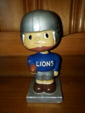 DETROIT LIONS Square Base Bobbin Head/Nodder/Bobbing Head 1961-1963 Near MINT