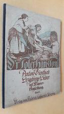 D'r Toler Hans Tonl, Anton Günthers Erzgebirgslieder, Klavierbegleitung 1, 1925