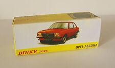 Repro box DINKY Nº 011543 OPEL ASCONA