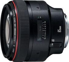 Canon new EF 85mm f/1.2L II USM