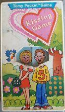 1975 Kissing Game Tomy Pocket Game Rare Vintage