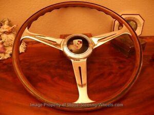 Fits Porsche 356 A Nardi & C Steering Wheel Wood 1950's 356 A VDM Horn Button