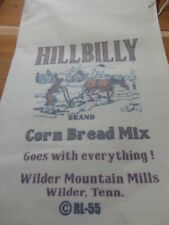 RL-55 CORNBREAD Flour Bag Sack Feed Seed  Novelty Collectible