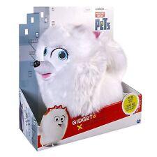 The Secret Pets 12 in (approx. 30.48 cm) Gidget hablando Life Of Felpa Buddy * Nuevo *