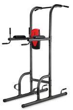 Weider Power Tower Gym Home Crossfit Pull Up Bar Abs Dip Machine Gymnastics New