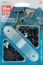 40 �–sen mit Scheiben 5 mm schwarz Prym 542371